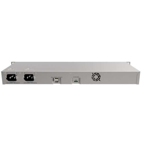 Mikrotik RB1100AHx4 RouterBoardQuadCore 1.4GHz 1GB RAM con 13 puertos gigabit. RouterOS Lv6.