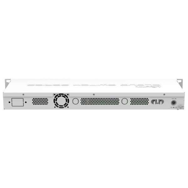 """MikrotikCSS326-24G-2S+RM Cloud Smart Switch Administrable de 24 puertos Gigabit. Rackeable 1u 19"""". SwOS"""
