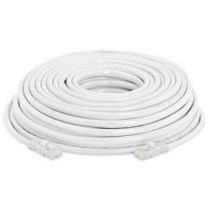 Delta AMPXL AM-PC6-20 Cable patch cord UTP certificado AM-PC6-20 cable con conectores RJ-45 categoría 6, de 20 metros de longitud, perfecto para patcheo a panel o faceplate.