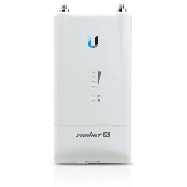 Ubiquiti R5AC-LiteAccess Point, potencia max. 27dBm. Procesador 720MHz y memoria RAM de 128Mb.Diseñado para exteriores.