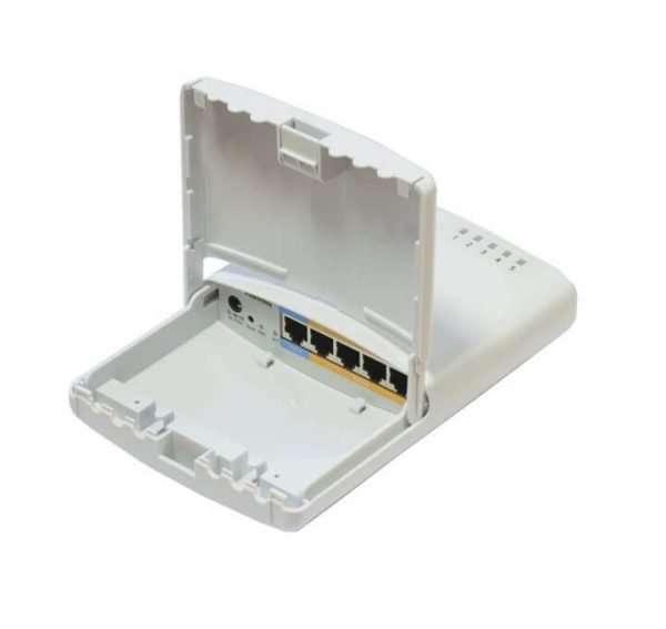 RouterBoard 750P-PBr2 PowerBox 5 puertos LAN Lv4