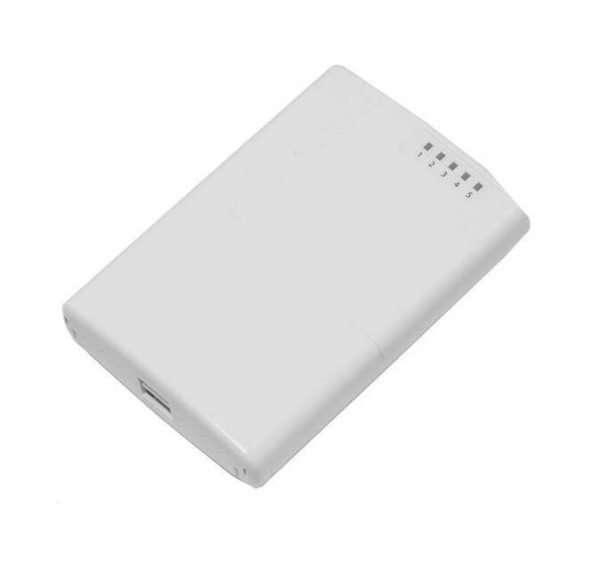 RouterBoard RB750P-PBr2 PowerBox 5 puertos LAN Lv4