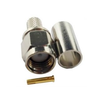 Conector ARSP-1700 RP-SMA macho crimp RG58