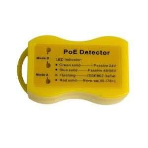B013P3DBQS Detector de disponibilidad de señal PoE en cables de red y tipo y voltaje del PoE que sale. No requiere batería.