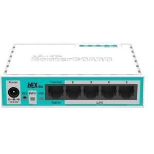 RouterBoard 750r2 Hex Lite 5 puertos Lv4