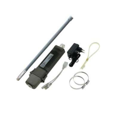 Kit2-Metal-5SHPn 1300mW Antena Omni 12dBi 5GHz