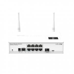 Cloud Router Switch CRS-109-8G-1S-2HND-IN 8 Puertos Gigabit