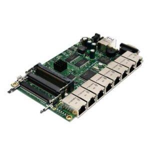 RouterBoard 493AH 9 puertos RouterOS Lv5