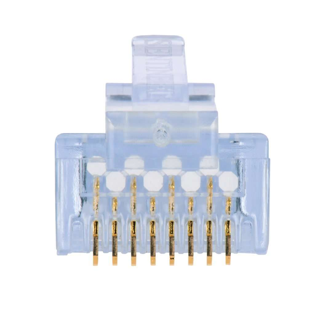 Delta AMPXL AM-CON-C6-100PACK Funda de 100 unidades de conectores RJ45 Cat6 ponchables.