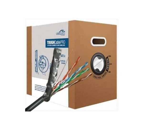 Ubiquiti TC-PRO Rollo de Cable Blindado con papel aluminio FTP ToughCable PRO 305mts outdoor.