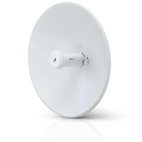UbiquitiPBE-5AC-Gen2 Power BeamAP/Cliente con Antena de 25dBi y puerto gigabit, potencia max. 25dBm. AC Airmax, diseñado para exteriores.