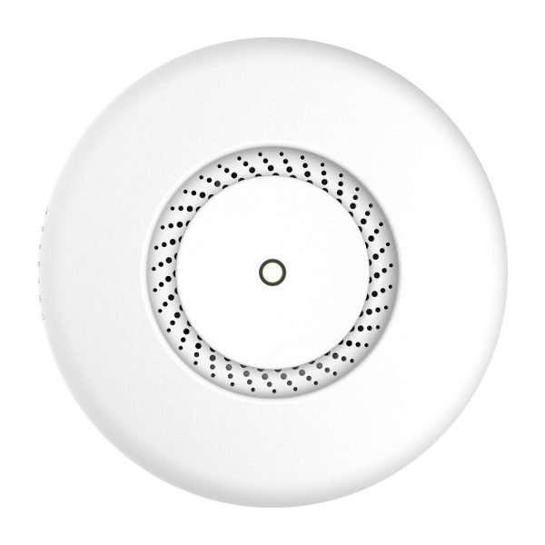 Access point circular de techo controlado con controladora mikrotik color blanco