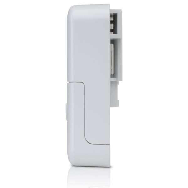 Caja plastica blanca protector para descargas ethernet gigabit