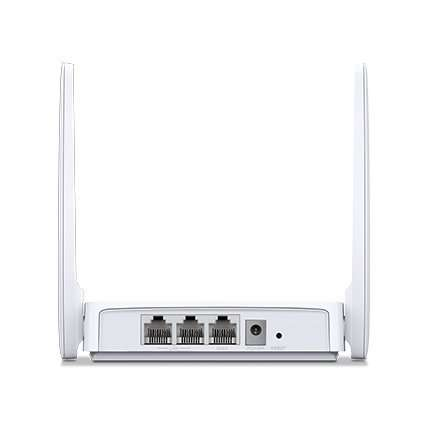 router cliente color blanco con dos antenas