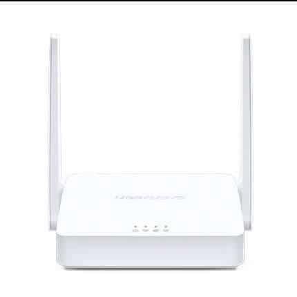 router cliente color blanco con dos antenas