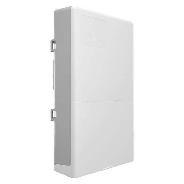 Conmutador para exteriores color blanco de 16 puertos