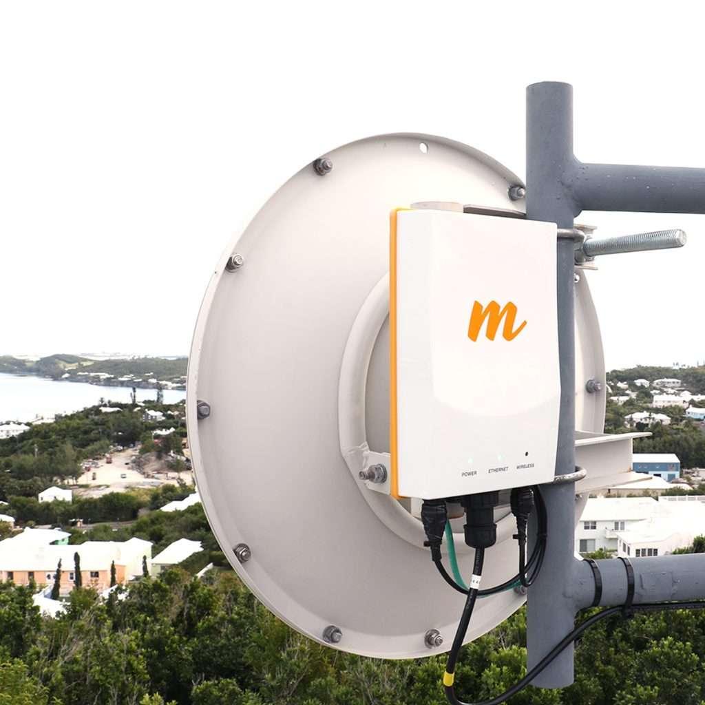 Mimosa B5c AP AC conectorizado sincronizado GPS no incluye antena, potencia max. 30dBm.Conectores N-Hembra.Outdoor.