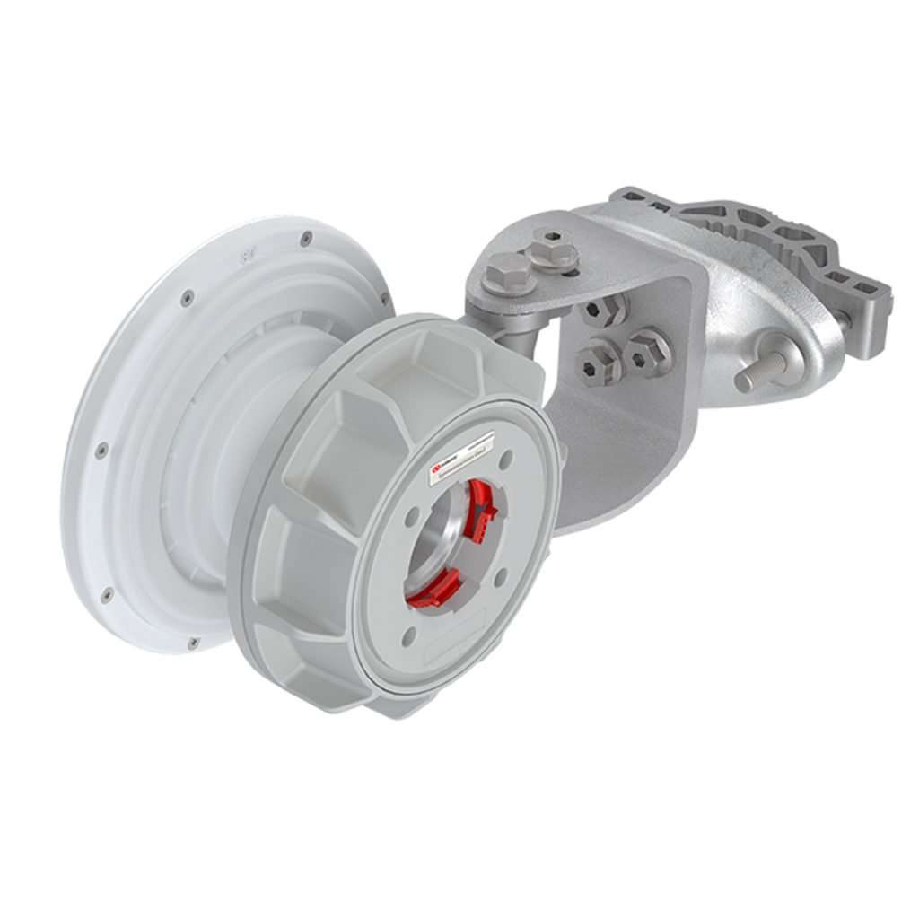 RF Elements HG3-TP-S80 Sectorial Simétrica Horn de 80 grados de cobertura en 5GHz de 10.4dBi conector TwistPort. Para uso en exteriores.