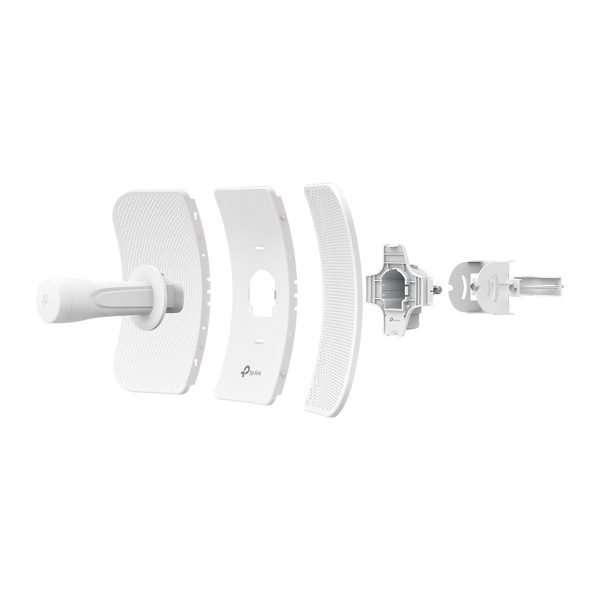 TP-Link CPE610 AP/Cliente con Antena de 23dBi, potencia max. 27dBm. Long Range protocolo PharOS, diseñado para exteriores.