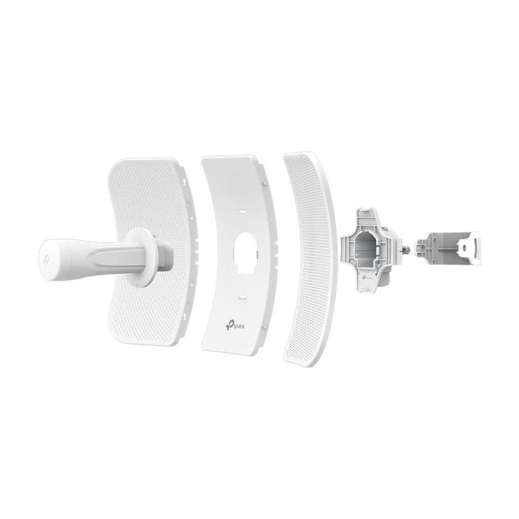 TP-Link CPE710 AP/Cliente con Antena de 23dBi AC HASTA 867Mbps, potencia max. 27dBm. Long Range protocolo PharOS, diseñado para exteriores.