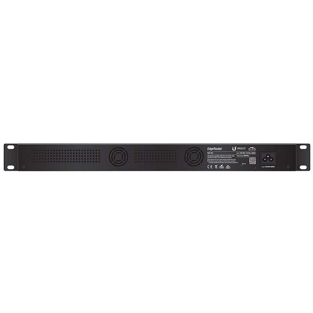 "Ubiquiti ER-8 poderosoenrutadorde 8 puertos Gigabit con tecnología EdgeMAX. Rackeable 1u 19""."