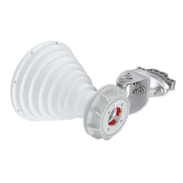 RF Elements HG3-TP-S30 Sectorial Simétrica Horn de 30 grados de cobertura en 5GHz de 18.4dBi conector TwistPort. Para uso en exteriores.