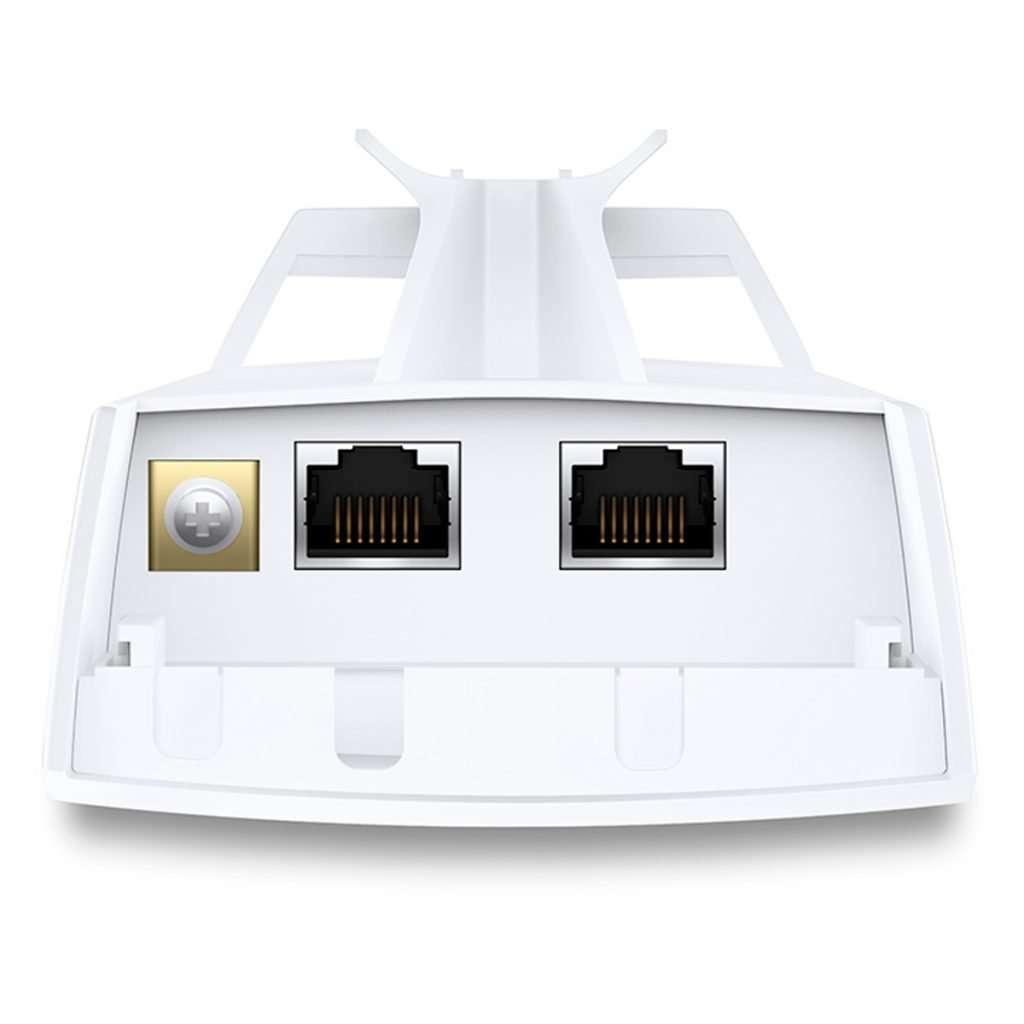TB-Link CPE220 AP de altísima potencia con Antena direccional de 12dBi para 2.4GHz diseñado para exteriores, incluye PoE.