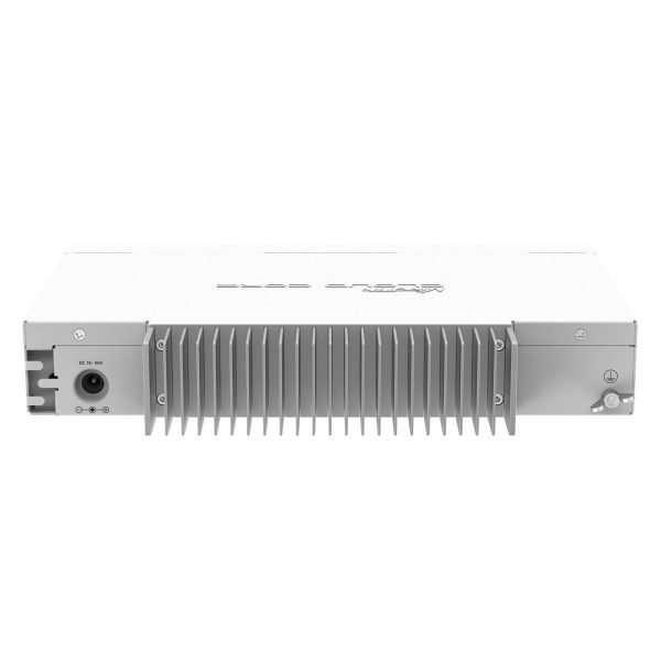 Mikrotik RouterBOARD CCR1009-7G-1C-PC poderoso enrutador rackeable con CPU de nueve núcleos de 1GHz 1GB RAM, puerto USB en formato rackeable con RouterOS Lvl6.