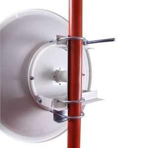 NetPoint NP1 Parabólica Dish 30dBi de 4.9 a 6.2GHz PtP Bridge de 60cmdiámetro. NO incluye los radios ni los dos cables pigtails. Requiere pigtail y radio se venden por separado.