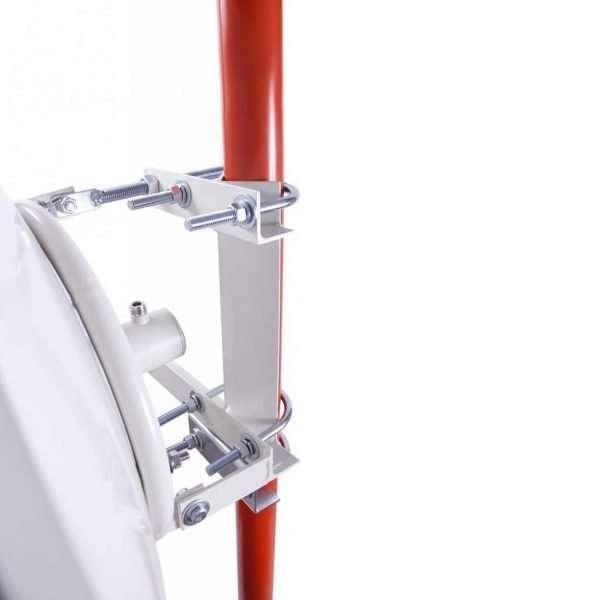 NetPoint NP2 Parabólica Dish 34dBi de 4.9 a 6.2GHz PtP Bridge de 100cmdiámetro. NO incluye los radios ni los dos cables pigtails. Requiere pigtail y radio se venden por separado.