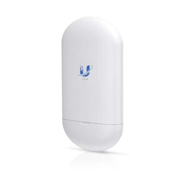 Ubiquiti LTU-LITE en 5GHz poderoso CPE parainfraestructura LTU PMTPpara entornos con espectro congestionado. Capacidad de hasta 600Mbps con gestión alternativa en la banda de 2.4GHz. Diseñado para exteriores.