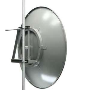 LanboWan ANT4958D36P-DP Parabólica Dish 36dBi de 4.9 a 5.8 GHz PtP Bridge de 120cmdiámetro. NO incluye los radios ni los dos cables pigtails. Requiere pigtail y radio se venden por separado.