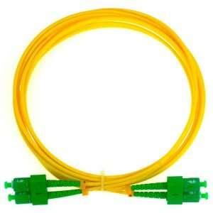 Connection CFO-7101 patch cord de Fibra Optica dúplex conectorizado SC/APC a SC/APC de 1 metro conectar a roseta en infraestructura FTTH GPON en las premisas del cliente.