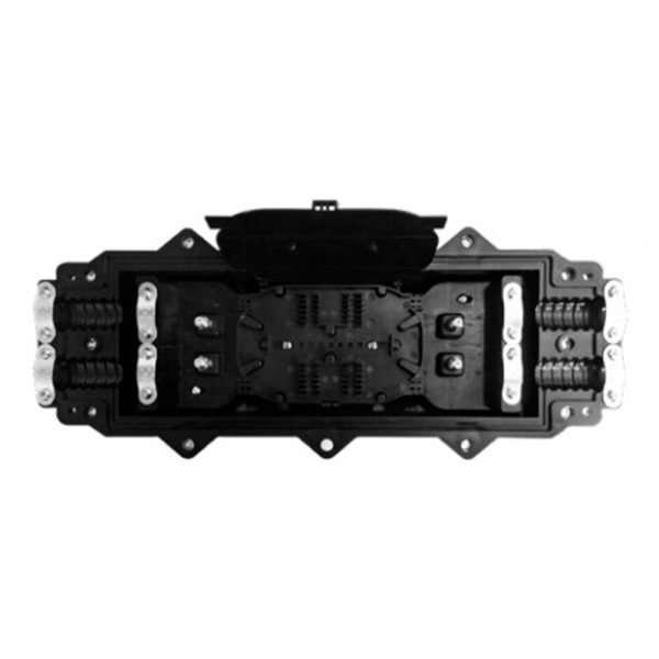 Connection CME-0424 manga domo de 24 hilos sin accesorios ni splitter para separación de elementos ópticos pasivos FTTH totalmente intemperie.