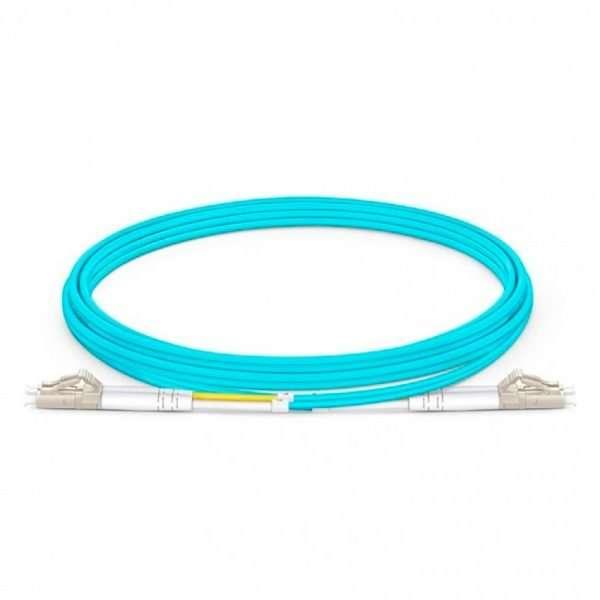Connection CFO-4202 patch cord de Fibra Optica dúplex multimodo OM3 conectorizado LC/UPC a LC/UPC de 2 metros ideal para enlaces ascendentes o pacheo multimodo de alta velocidad.