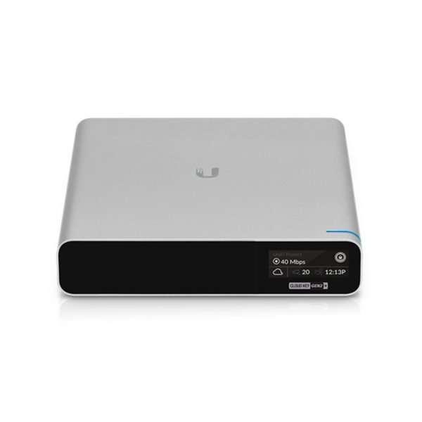 Ubiquiti UCK-G2-PLUS UniFi Cloud Key Gen2 Plus Gestión Centralizada Híbrida de redes UniFi con UniFi Protect con memoria interna de 1TB HDD puerto gigabit con entrada PoE 802.3af/at. Para uso en interiores.